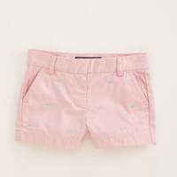 Girls' Shorts: Embroidered Boulevard Shorts for Girls' - Vineyard Vines