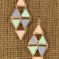 Hanging Shapes Earrings