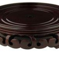 Rosewood Carved Stand #10 - OrientalFurniture.com