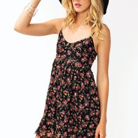 Floral-Lace-Cut-Out-Dress BLACKPINK - GoJane.com