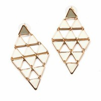 Dancing Triangle Earrings | Cute Earrings at Pink Ice