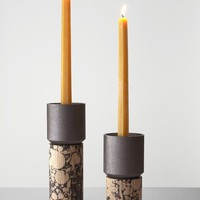 Stick Candle Holder Marble