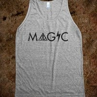 Magic (Tank) - Fun, Funny, & Popular - Skreened T-shirts, Organic Shirts, Hoodies, Kids Tees, Baby One-Pieces and Tote Bags