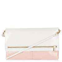Colour Block Clean Clutch