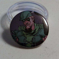 "Comic Book 1.5"" Button// Green Arrow (Oliver Queen)"