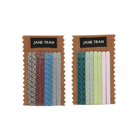 Jane Tran Diamond Mosaic Print Assorted Bobby Pin Set