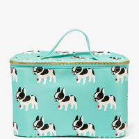 French Bulldog Cosmetic Bag | FOREVER21 - 1048889803