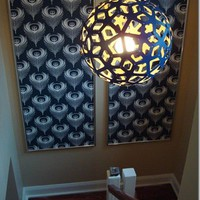 High-Heeled Foot in the Door: How to make: Extra Large Wallpaper Panels