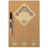 Art Nouveau Medium Dry Erase Board from Zazzle.com