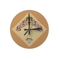 Art Nouveau Medium Wall Clock from Zazzle.com