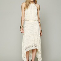 Free People FP X Wild Flower Halter Dress