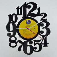 Unique Home Decor Vinyl Record Wall Clock (artist is Madonna)