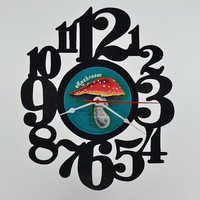 Vinyl Record Album Wall Clock (artist is Heart)