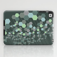 Hexagonal / cool iPad Case by Mirabilis