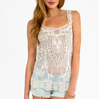 All Over The Lace Top $22