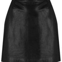 Leather Skirt By Boutique