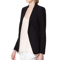 BASIC BLAZER - Blazers - Woman - ZARA Spain