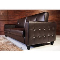 Walmart: Rome Faux Leather Convertible Sofa Bed, Multiple Colors