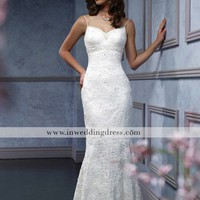 Beach Bridal Gowns,Simple Wedding Dresses