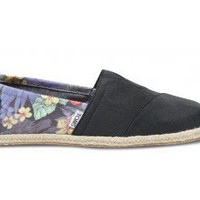 Black Tropical Rope Men's Classics | TOMS.com