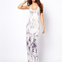 Only Tie Dye Maxi Dress at asos.com