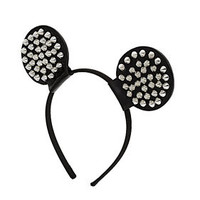 Studded Mouse Ears Aliceband - Hair Accessories  - Bags & Accessories