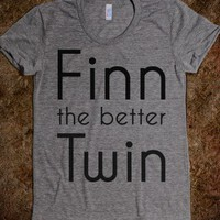 Finn the better Twin  - Solivagant - Skreened T-shirts, Organic Shirts, Hoodies, Kids Tees, Baby One-Pieces and Tote Bags