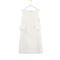 DRESS WITH RUFFLE AT THE WAIST - Dresses - Girl - Kids - ZARA United States