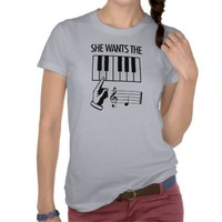 She Wants The D Tee Shirts from Zazzle.com