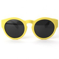 Chicwish Candy Color Round Lens Sunglasses