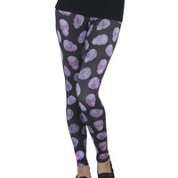 Floral Skull Printed Legging | Shop Bottoms at Wet Seal
