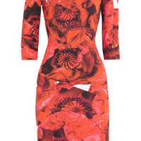 Preen by Thornton Bregazzi | Dita printed stretch-jersey dress | NET-A-PORTER.COM