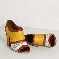 Anthropologie - Toledino Peep-Toe Booties
