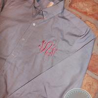 Monogrammed Button Down