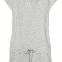 Karl Lagerfeld | Delina cotton-jersey sweater dress | NET-A-PORTER.COM