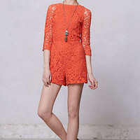 Anthropologie - Accordance Lace Romper