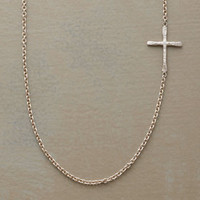 LINKED CROSS NECKLACE         -                  Necklaces         -                  Jewelry                       | Robert Redford's Sundance Catalog