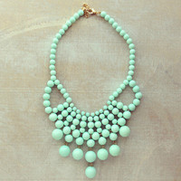 Pree Brulee - Escape to Paris Mint Necklace