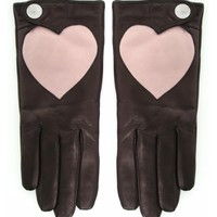 Vivienne Westwood | Women's Leather Heart Gloves | JULES B