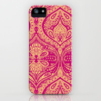 Simple Ogee Pink iPhone & iPod Case by Aimee St Hill