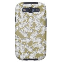 Fishbones Olive Samsung Galaxy S Case Samsung Galaxy S3 Cover from Zazzle.com