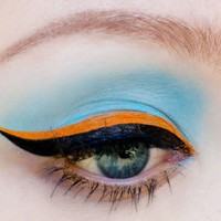 Lime Crime 6th Element Orange Liquid Eyeliner