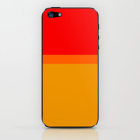 Re-Created Playing Field XLVII iPhone & iPod Skin by Robert Lee