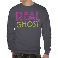 real ghost pull over sweatshirt from Zazzle.com