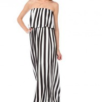 Bessemer Striped Dress - ShopSosie.com