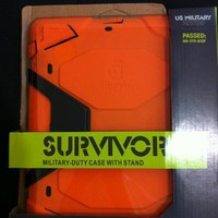 Griffin Survivor Extreme-duty case for the new iPad&iPad 2 ORANGE+FREE SHIPPING