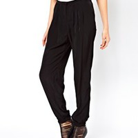 ASOS Trousers with Elastic Cuff at asos.com