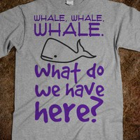 Whale, whale, whale. What do we have here?