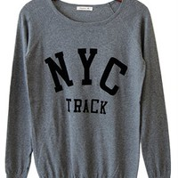 Collegiate Cool Sweater, Charcoal