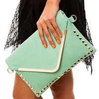 Street Level The Unconditional Clutch in Mint : Karmaloop.com - Global Concrete Culture